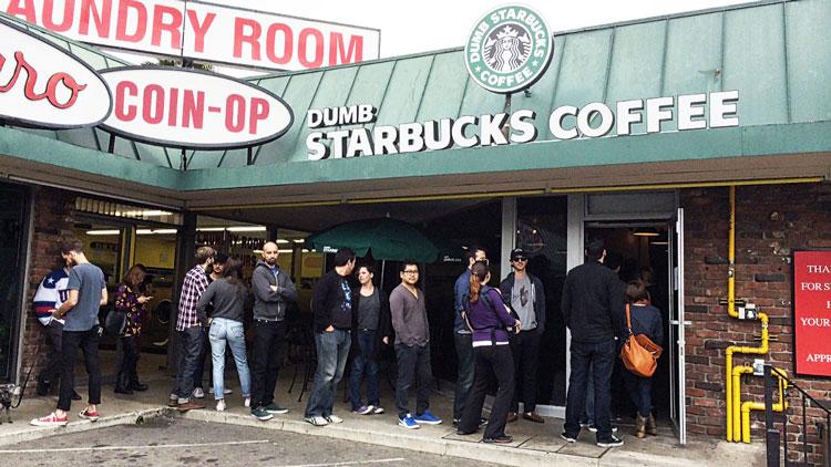Dumb Starbucks: Get some Real (Dumb) Coffee