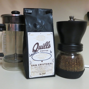 San Cristobal from Quills Coffee